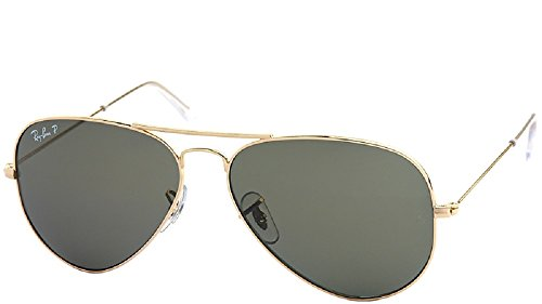 Ray-Ban Aviator RB3025 001/58 Polarizado Tamaño Medio