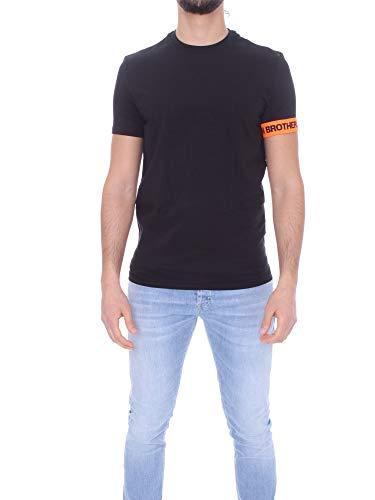 DSQUARED2 D9M3S3550 T-Shirt Uomo Nero M