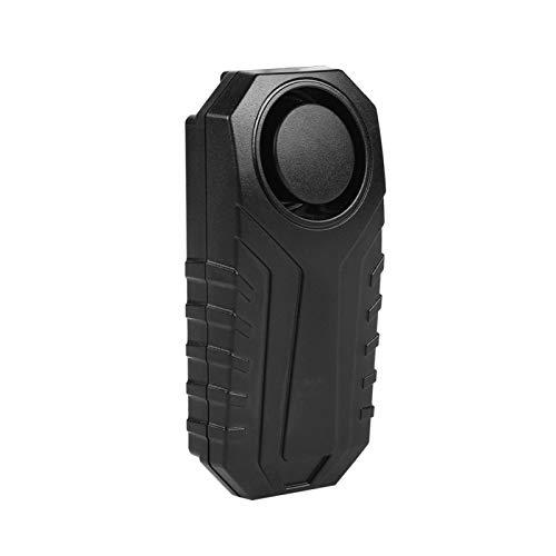 Alarma de Control Remoto Inteligente 113Db Sensibilidad Ajustable de 7 Niveles Ip55 Alarma antirrobo de Bicicleta inalámbrica Impermeable Pc Material Shell para Exteriores