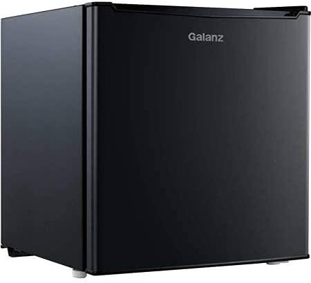 Galanz - 1.7 cubic foot compact dorm refrigerator, Black