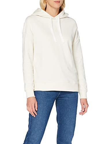 BOSS Womens Tadelight Sweatshirt, Open White (118), L