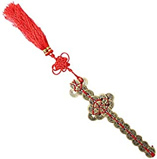 Firesofheaven Feng Shui Zen Art Brass Coin Sword Ancient Money Sword