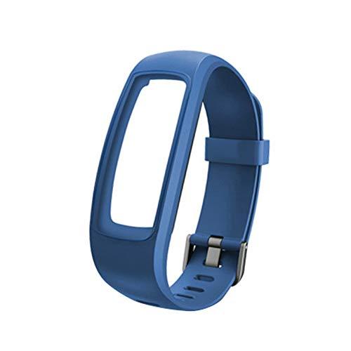 DNelo Pulsera de Reloj Inteligente Resistente al Agua Correa por Identificación 107 107Plus HR Pro Lite - por Identificación 107Plus HR/Pro/Lite Azul