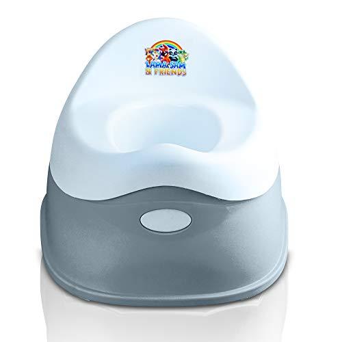 Lama Sam & Friends - orinal para bebés de 2 partes - Orinal desde aproximadamente 18 meses hasta aproximadamente 3 años, función antideslizante