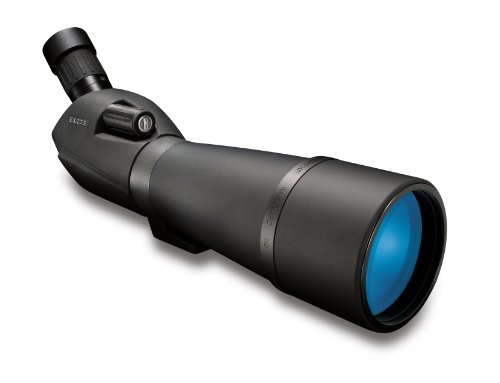 Bushnell 784580 Elite - Telescopio terrestre, zoom con Rainguard y ocular 45º, Negro, 20-60 x 80 mm