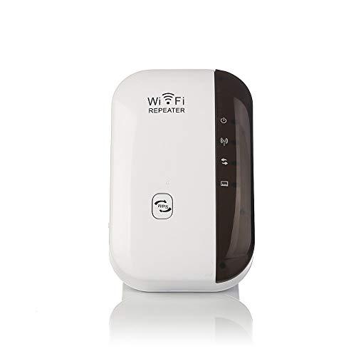 DDELLK, wifi-repeater, versterker, draadloos, signaalbooster, repeater, dual band, wifi-extender, compacte internetbooster & wifi-range versterker, 802.11 US-stekker Medium