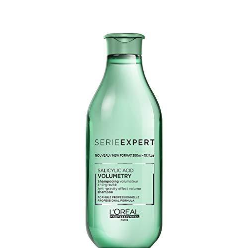 L'Oréal Professionnel Paris Serie Expert Volumetry Shampoo, Volumen-Shampoo für volles Haar, Pflegeshampoo mit Salicylsäure, für feines Haar, verbessert die Haarstruktur, 300 ml