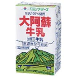 らくのうマザーズ大阿蘇牛乳250ml紙パック×24本入×(2ケース)