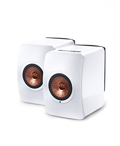 KEF LS50 Wireless Powered Music System (White, Pair)
