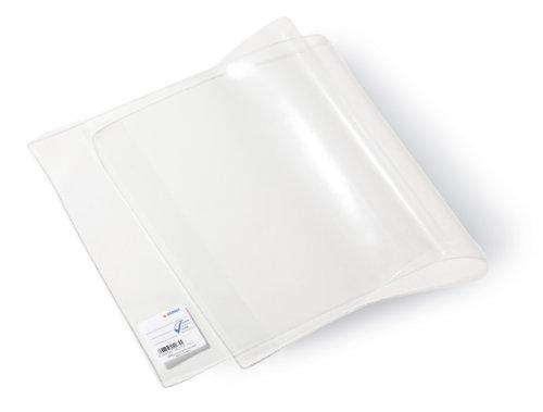 Herma 14184 Schulbuch Buchumschlag Basic, 265 x 540 mm, Kunststoff transparent, Set mit 5 Buchschonern im gleichen Format