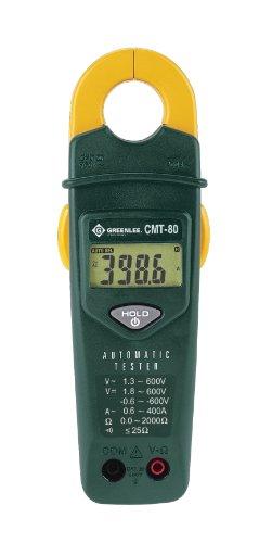 Greenlee - Tester, 600V/400A (Cmt-80), Elec Test Instruments (CMT-80)