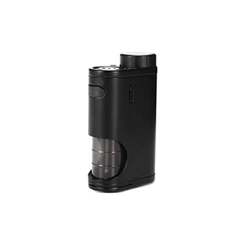 Eleaf - Pico Squeeze Box Mod Bottom Feeder da 50 W, batteria 18650 (non inclusa), protezione da corto circuito (Black/Nero)