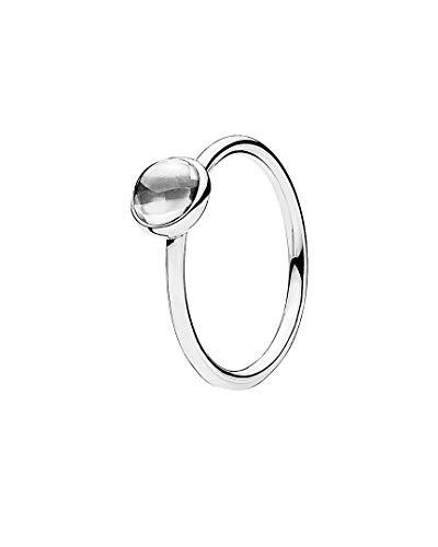 Pandora Damen-Ring Malerisches Tröpfchen 925 Zirkonia silber Gr. 56 (17.8)-190983CZ-56