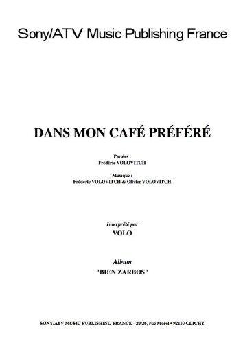DANS MON CAFE PREFERE