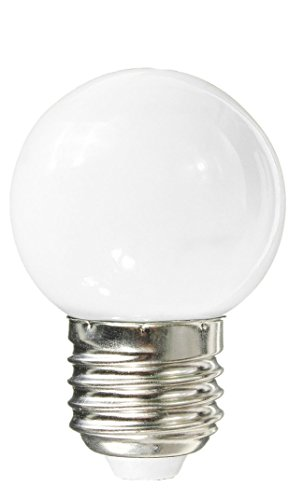 Silver Electronics Bombillas E27, 1 W, Blanco