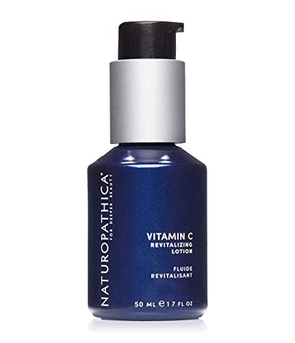 Naturopathica Vitamin C Revitalizing Lotion - Ultra-light Daily Facial Moisturizer w/ Rose & Orange Oils and Kudzu Extract, 1.7 oz. (50 ml)