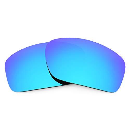 Revant Revant Ersatzgläser Kompatibel mit Oakley Scalpel, Polarisiert, Eisblau MirrorShield