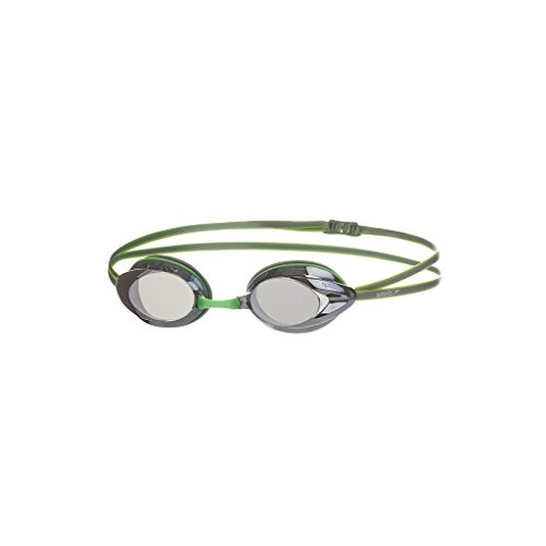 Speedo Schwimmbrille Opal Mirror, Green/Silver, One size, 8-08338A480