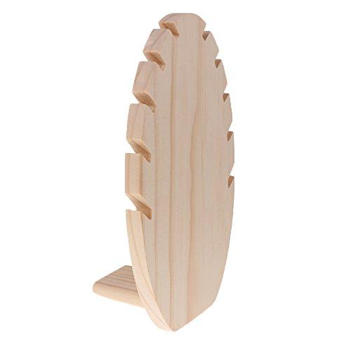 Holz Kettenständer für Aufbewahrung - Kräftiges Holz, 27x16x7cm