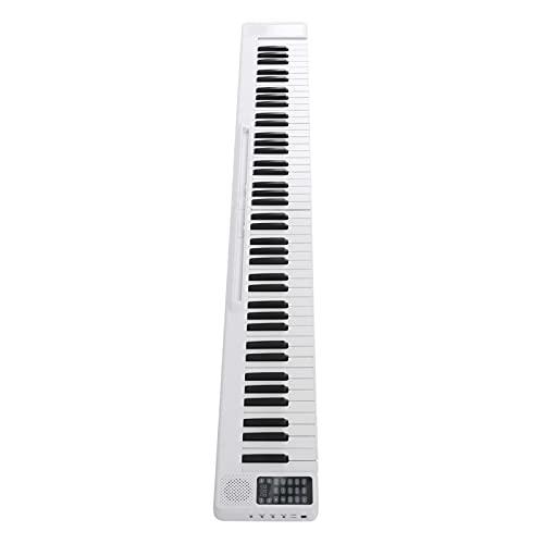 Teclado de piano, piano eléctrico plegable de 88 teclas Piano eléctrico plegable para amantes del piano