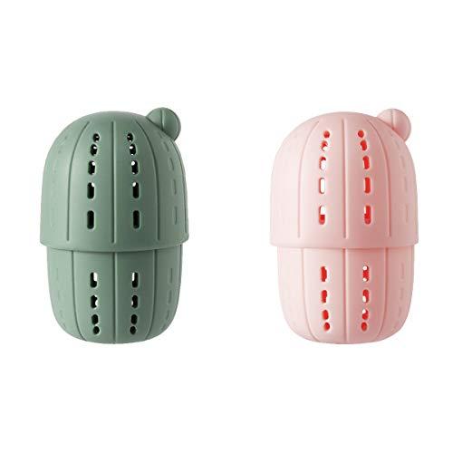 Shapl Beauty Blender - Scatola portaoggetti in spugna, confezione da 2, per trucco, truccatore, cosmetici, porta spugne per trucco, facile da riporre, portatile