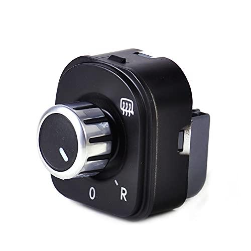 CMEI Mirador de Control de Interruptor de Ajuste Adecuado para VW Golf Jetta GTI MK5 MK6 Passat de Conejo B6 3C Tiguan