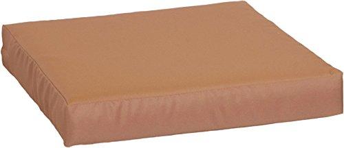 Beo Beo LKP 50x50PY201 Loungekissen Sofakissen Palettenkissen mit Reissverschluss und wasserabweisendem Stoff, Sand, 50 x 50 cm