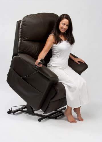 Wheelchair Silla de ruedas, silla de rehabilitación médica para personas mayores, personas mayores, silla de movilidad Lars Dual Motor Rise and Recline