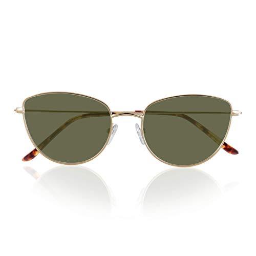 Foreyever Lovely Gafas, Oro, 54 para Mujer