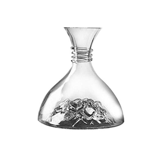 1800Ml Lead-Free Crystal Glass Wijn Decanter Rode Wijn Dispenser Met Grote Capaciteit Drank Fles Van De Whisky