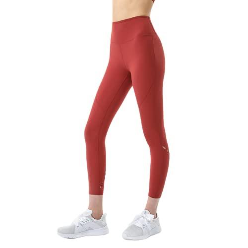 QTJY Pantalones de Yoga sin Costuras para Mujer, Push-ups, Celulitis, Ejercicio, Gimnasio, Pantalones de Yoga, Cintura Alta, Estiramiento, Ejercicio, Pantalones para Correr, E S