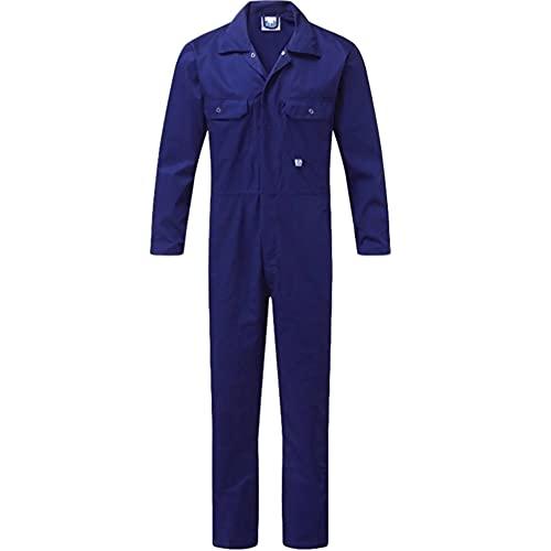 CJF Ropa De Trabajo para Hombres Monos De Taller Mono Sobretodo con Múltiples Bolsillos Pantalones Mecánica Traje De Caldera