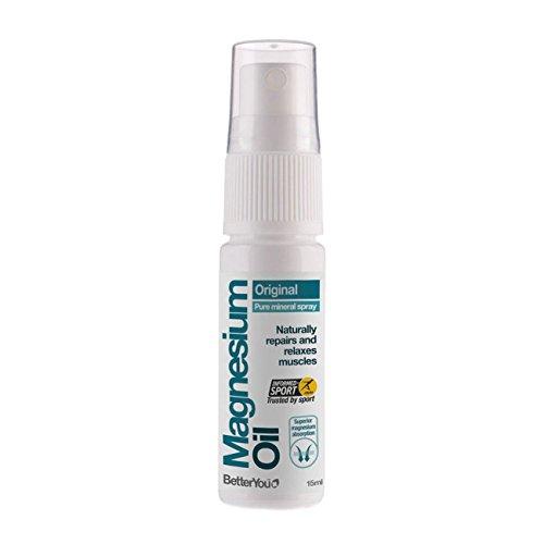 2 x BetterYou Natural Magnesium Oil Original Spray 15ml