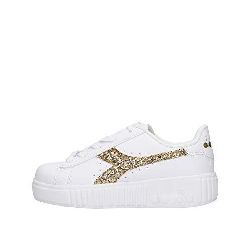 Diadora 101.175084-C5363 Sneakers Bambina Bianco 35