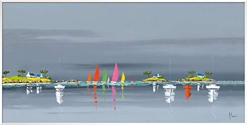 International Graphics - Impresión de arte enmarcado - Frédéric, Flanet - ''Reflets...