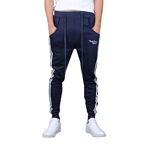 Best Price Hmlai Clearance Men's Casual Running Slim Fit Jogger Sweatpants Casual Sport Work Trouser...