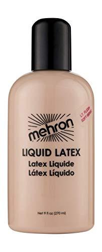 Mehron Makeup Liquid Latex (9 oz) (Light Flesh)
