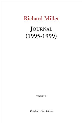 Journal : Tome 2, 1995-1999