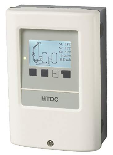 Centralina elettronica digitale completa di sonde per impianti solari termici (Modello MTDC)