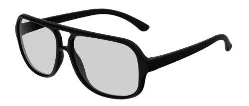 EX3D Eyewear TH0011 Passive 3-D Brille schwarz