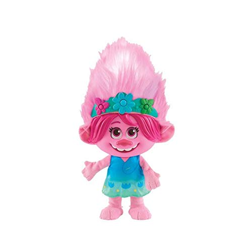 DreamWorks TrollsTopia Color Poppin' Poppy Interactive Plush with 5 Modes, Lights, and Sounds,...