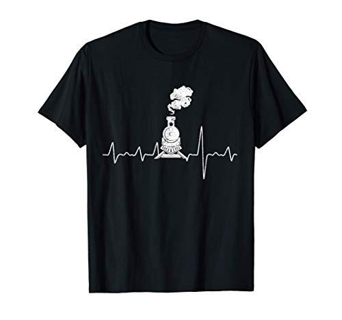 Dampflok & Lokomotive Geschenk T-Shirt