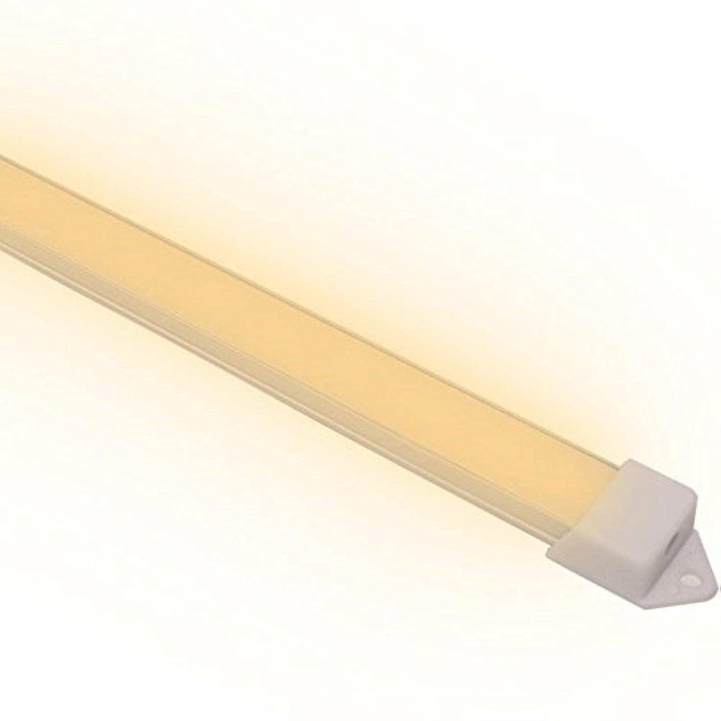 援助する要旨調和エジソン東京 デスクライト LEDバーライト スリムな薄型タイプ 102cm 電球色 USB電源式 マグネット取付
