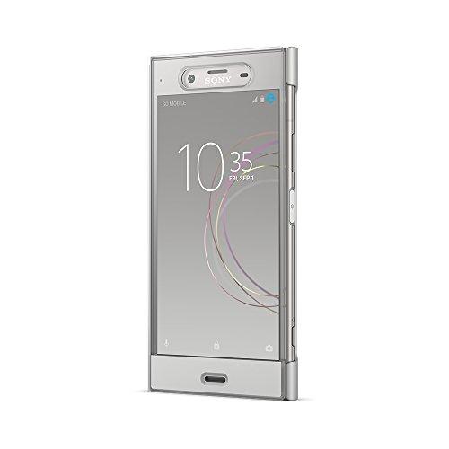 Sony Mobile Coque de Protection pour Sony Xperia XZ1 - Argent