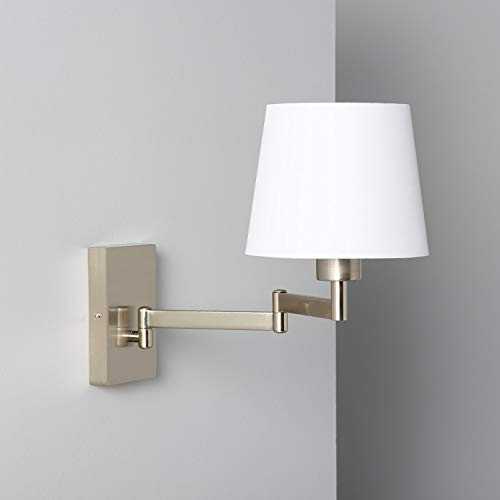 LEDKIA LIGHTING Lámpara de Pared Ugani 305x180x440 mm Blanco E27 Casquillo Gordo Decoración Salón, Habitación, Dormitorio