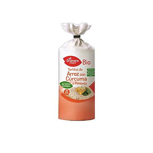 Granero Tortitas De Arroz Con Curcuma Y Pimienta Bio 115 G Bolsa De 115 Gramos 115 ml