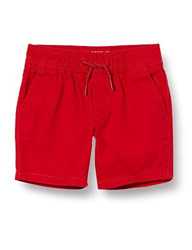 Levi's Kids Lvb Box Tab Pull On Chino Pantalones cortos Bebé-Niños Chili Pepper 24 meses