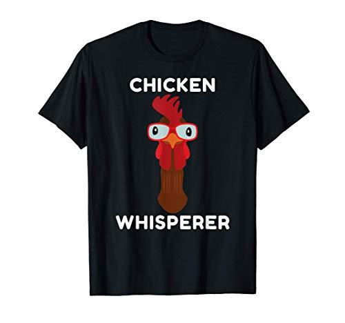 Pollo divertido, gallinas, aves de corral, diseño Camiseta