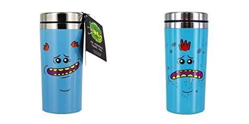 Rick and Morty Mr. Meeseeks - Taza de viaje