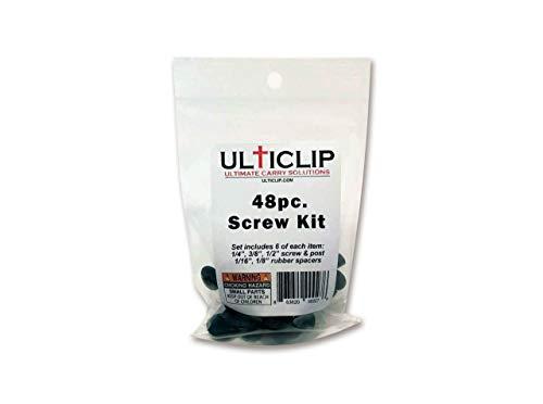 multicolor Ulti Clip 09ut004/accesorios Juego de tornillos